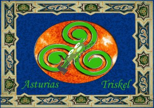 Asturias Triskel