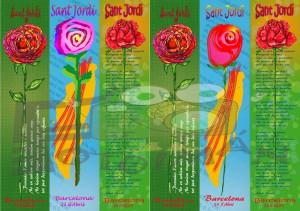 Puntos de Libro Sant Jordi